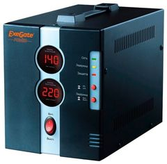 Стабилизатор напряжения Стабилизатор напряжения ExeGate DCR-1500D (0.8 кВт)