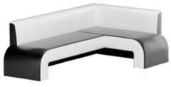 Кухонный уголок, диван Mebelico Кармен (черный)