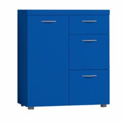 Комод Комод Глазовская мебельная фабрика 2 Проект 17 (синий)