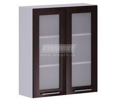 Кухонный шкаф Кухонный шкаф СтолПлит Анна АП-180 с 2-мя витринами