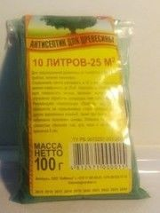 Защитный состав Защитный состав КиМенск Антисептик 100 гр. на 25 м2 зеленый