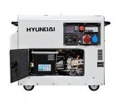 Генератор Дизельный генератор Hyundai DHY 8000SE-3