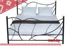 Кровать Кованая кровать Мани Фест Листья