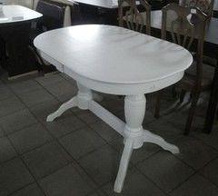 Обеденный стол Обеденный стол Мебель-Класс Пан (кремовый белый)