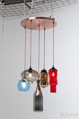 Светильник Светильник Kare Pendant Lamp Shape Colore 5-lite 36373