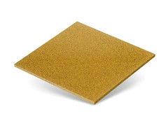 Резиновая плитка Rubtex Плитка 500x500 (толщина 40 мм, желтая)