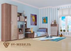 Детская комната Детская комната SV-Мебель Город-4