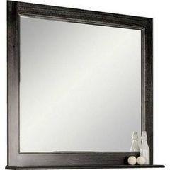 Мебель для ванной комнаты Акватон Зеркало Жерона 85 (1A158702GEM50) черное серебро