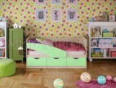 Детская кровать Детская кровать МиФ Бабочка (матовый салатовый) 1.6м