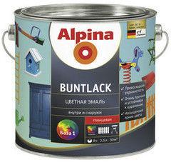 Эмаль Эмаль Alpina Buntlack База 1 (0.75 л)