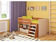 Двухъярусная кровать Легенда 6 (ольха+венге светлый)