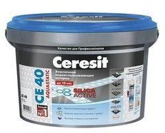 Фуга Ceresit CE 40 Серебряно-серая №04 (5 кг)
