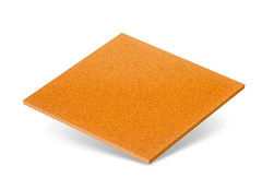 Резиновая плитка Rubtex Плитка 500x500 (толщина 30 мм, охра)