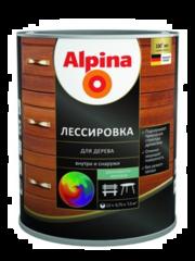 Защитный состав Защитный состав Alpina Лессировка для дерева, шелковисто-матовая (2.5 л)
