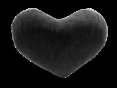 Декоративная подушка Виктория Мебель Сердце СК 1591 (серый)