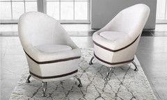 Кресло DM-мебель Жемчужина (белое)