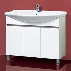 Мебель для ванной комнаты Акваль Тумба под умывальник Афина 105 (АФИНА.05.00.01.N)