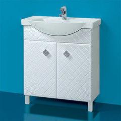 Мебель для ванной комнаты Акваль Тумба под умывальник Зара 75