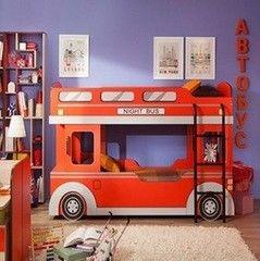 Двухъярусная кровать Глазовская мебельная фабрика Автобус-1 900x1900