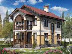 Строительство домов Строительство домов БелДревМонтаж Витязь К 6х8