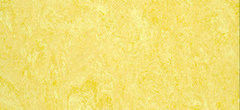 Линолеум Желтый линолеум DLW Marmorette PUR 125-076 pale yellow