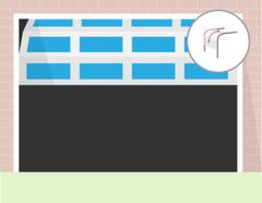 Alutech Ворота промышленные секционные с-п «панорама» б/авт