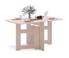 Обеденный стол Обеденный стол Сокол-Мебель СП-08 (беленый дуб)