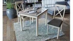 Обеденный стол Обеденный стол ТриЯ Мельбурн СМ (Б)-100.05.12(1) раздвижной стол со стеклом