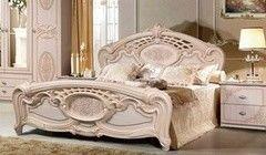 Кровать Кровать Калинковичский мебельный комбинат Розалия 0456.1-01 Дуб Молочный (160x195)