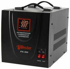 Стабилизатор напряжения Стабилизатор напряжения Wester STB-5000 (4 кВт)