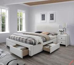 Кровать Кровать Halmar Modena 2 (белый)