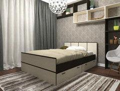 Кровать Кровать Настоящая мебель Весна 1400x2000