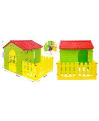 Ipae-progarden s.p.a. Домик игровой детский с заборчиком