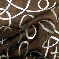 Ткани, текстиль noname Органза с рисунком H-21.333