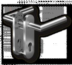 Dorma Комплект ручек Pure 8906 / 7051 K, 38–56 мм, 8 мм, нерж. ст. (90050055049)