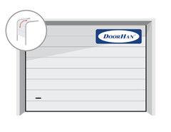 DoorHan RSD02 2500x2500 секционные, M-гофр, авт.