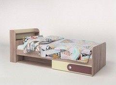 Детская кровать Детская кровать КМК 900 Лакки (0522.5)