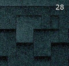 Гибкая черепица Гибкая черепица RoofShield Премиум Модерн Бархатно-черный
