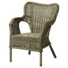 Кресло из ротанга IKEA Бюхольма 903.883.27