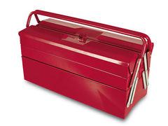 TAYG Ящик для инструмента металлический, раздвижной, 5 отделений 505 (500x200x290 мм) (TAYG) (188008)