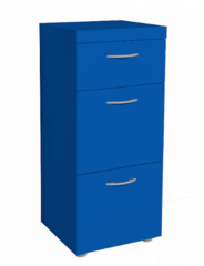 Комод Комод Глазовская мебельная фабрика 1 Проект-17 (синий)