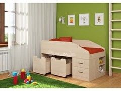 Детская кровать Детская кровать Легенда 8 (венге светлый)
