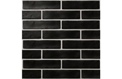 Плитка Плитка Golden Tile The Strand: brickstyle черный 25x6