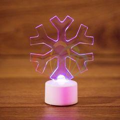 Декоративная светотехника NEON-NIGHT Снежинка 2D на подставке 501-055