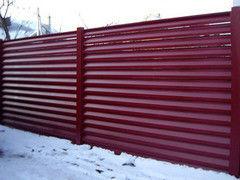 Забор Забор МСК Инвест Забор-жалюзи двухсторонний (цвет 3005/3005)
