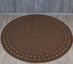 Ковер Balta Fondo коричневый (160x160)