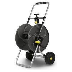 Посадочный инструмент, садовый инвентарь, инструменты для обработки почвы Karcher Тележка металлическая для шланга  НТ 80 М.  Подходит для: 80 м шланга 1/2'' .60 м шланга 5/8''. 40 м шланга 3/4'' (2.645-042.0)