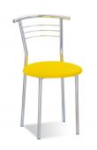 Кухонный стул САВ-Лайн Марко хром (жёлтый)