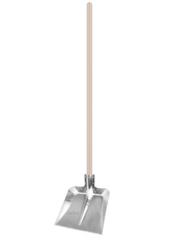 Посадочный инструмент, садовый инвентарь, инструменты для обработки почвы БелБиоХаус Лопата с оцинкованной планкой и деревянным черенком