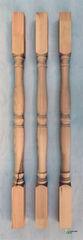 Элементы ограждений и лестниц Сибирский лес Балясина 50х50х900 №1 (точёная)